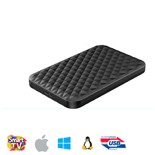 HGST 500GB Portable/Slim SS USB 3.0 Hard Drive (Windows/Mac/Linux, Auto Sleep,BL