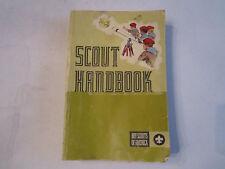 1972 BOY SCOUT HANDBOOK - 8TH EDITION - FIRST PRINTING - TUB RH-3