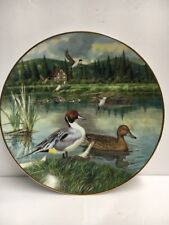 "1986 Bart Jerner's Duck ""The Pintail"" Collectors Plate Knowles"