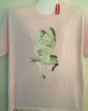 F******G Awesome Owl Tee Size XL Pink Purchased At Supreme Skate Tee