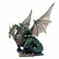 Unboxed Mantic Kings of War Dungeon Saga Green Dragon (d&d warhammer elf lord)