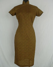 Vintage Mid-Century Chinese Silk Cheongsam Dress