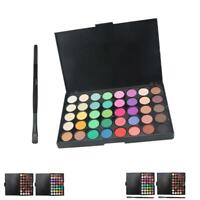 40 Color Cosmetic Matte Eyeshadow Cream Eye Shadow Makeup Palette Shimmer Set BR