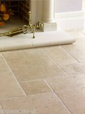 Tumbled (Aged) Classic Travertine Opus Pattern Tiles - Natural Stone Flooring