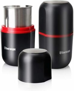 COOL KNIGHT Herb Grinder [large capacity/fast/Electric ]-Spice Herb Grinder