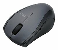ELECOM-Japan Brand-Bluetooth 3.0 Wireless Mouse Silence 5 Button Black