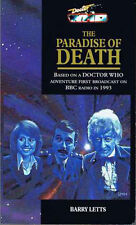Doctor Who 3rd Dr (Pertwee) Book - PARADISE OF DEATH by Barry Letts - (Mint New)