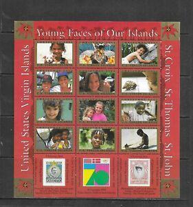 U.S Virgin Islands -  Lot 260, Mint, NH. Sheetlets