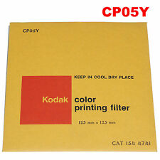 KODAK color printing Filtre. 125 x 125 mm cp05y Cat 154 4741 -