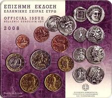 Greece - Official euro coinset 2008 UNC - BU