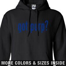 Got Purp? HOODIE - Hooded Purple Kush Marijuana Sweatshirt - All Sizes & Colors