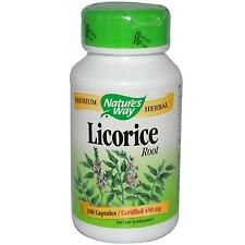 Licorice Root Extract - 100 Capsules by Nature's Way - Digestive System Support