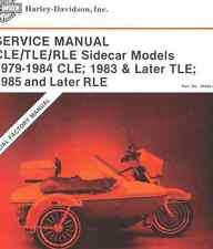 1979 1984 Harley Davidson CLE Sidecar 1983 1989 TLE Sidecar and 1985 Manual NEW