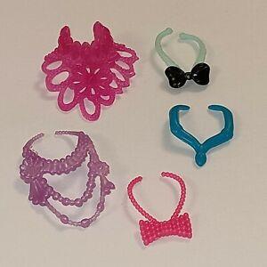 Doll Accessories Jewellery Necklace Bundle for Barbie & Barbie Size Dolls