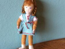 Mädchen Erna Meyer  Biegepuppe Puppenstube Puppenhaus 1:12 dollhouse doll