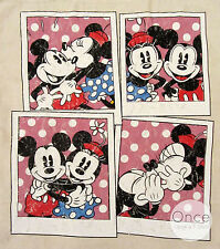 DISNEY MICKEY & MINNIE MOUSE Polaroid Picture Canvas Tote from Primark