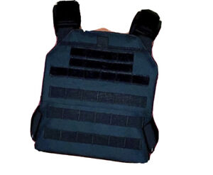 Tactical Cross Fit Weighted Vest  Plate Carrier Molle Endurance Training Combat
