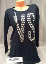 Victoria s Secret Women s Striped Cotton Blend Sleepshirt Sleepwear   Robes 82ab60118