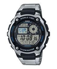 Casio AE-2100WD-1A Sporty Digital Stainless Steel Watch