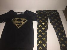 Brand New- DC Comics Supergirl 2PC Set Girls Size (Small/6)