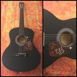 GFA Stealing Cinderella CHUCK WICKS Signed Autograph Acoustic Guitar C2 COA