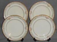Set (4) Noritake Bone China BARRYMORE PATTERN Salad Plates