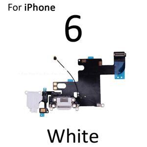 For Apple iPhone 6 Charging Port, Headphone Jack & Microphone Flex White