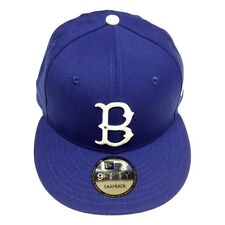 4797b963383 Era 9fifty MLB Brooklyn Dodgers Vintage Royal Blue Adjustable Snapback Cap