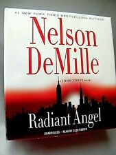 ~~~RADIANT ANGEL  by Nelson DeMille.. Audiobook..9 cd`s..UNABRIDGED~~~