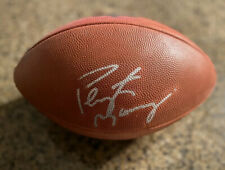 PEYTON MANNING signed autographed NFL Wilson game ball JSA AUTHENTICATED