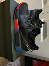 nmd r1 Red Black Blue And Red , Size 10 Men's Shoes