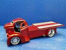 JADA D RODS 1947 FORD COE SLIDING BED 1:24 RED DUB/JADA TRUCK-COMMERCIAL TOW
