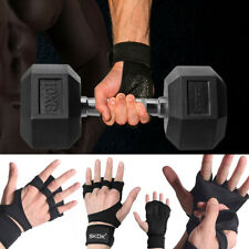 Fit Active Sports Weight Lifting Glove For Workout Gym Cross Training Pull Up NA