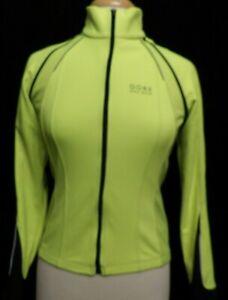 GORE Bike Wear Womens PHANTOM Windstopper Soft Shell Jacket Vest Bright Green Sm