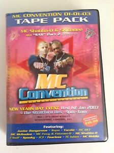 Mc Convention 2003 Part 2 6 Tape Pack Drum & Bass Rare D&b Missing One Tape!