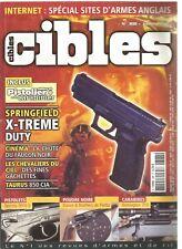 CIBLES N°388 SPRINGFIELD X-TREME DUTY / TAURUS 850 CIA / BERETTA 9000 S