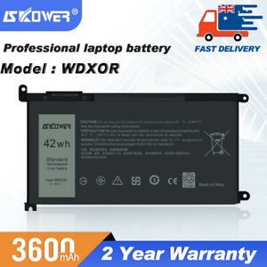 42Wh WDX0R  Battery For Dell Inspiron 13 5378 5368 7378 7460 15 5567 7569 7579