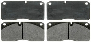 Disc Brake Pad Set-Semi-Metallic Front,Rear ACDelco Pro Brakes 17D1027M