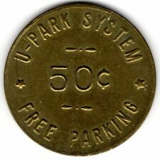 Seattle *** U-PARK SYSTEM *** 50¢  *** TC-400254; Parking WA 3780-AM