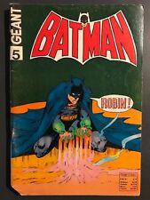BATMAN GEANT (Sagedition - 1ère série - V1) - T5 : avril 1973