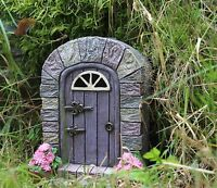 Solar Powered Decorative Garden Ornament Fairy Magic Door Colour Changing