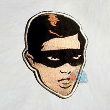 Robin Burt Ward Face Embroidered Patch 1966 TV Serie Batman Batmobile Adam West