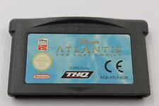 NINTENDO GBA GAME BOY ADVANCE ATLANTIS THE LOST EMPIRE CARTUCHO PAL EUR