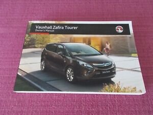 please read description HANDBOOK 2007 ONWARDS VAUXHALL ZAFIRA