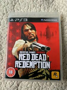 RED DEAD REDEMPTION - PS3 PLAYSTATION 3 no map