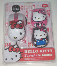 Hello Kitty 3 Faceplate Mouse USB Opt