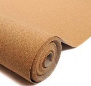 "Cork Sheet: 0.8x305x915mm 1/32x12x36"" model railway underlay scenery roll Javis"