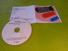 PHOENIX - WOLFGANG AMADEUS PHOENIX - SAMPLER !!!!! FRENCH PROMO CD!!!!!!!