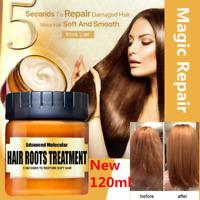 Advanced Molecular Hair Roots Treatment Hair Renewed Recover Return Bouncy 120ml