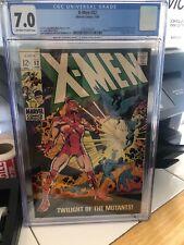 X-Men #52, CGC FN/VF 7.0; Mesmero, Magneto, Cyclops, Marvel Girl, Beast
